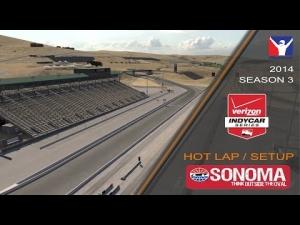 iRacing Indycar DW12 @ Sonoma | Setup & Hotlap 1'14.990