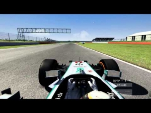 Assetto Corsa  Mercedes W05 LEWIS Hotlap on Silverstone (1.32.764)