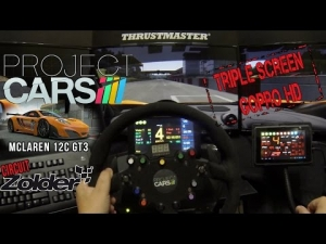 Project CARS - McLaren Mp4-12C GT3 @ Zolder