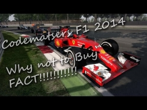 F1 2014 - Why not to buy Fact!!