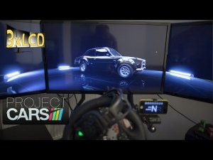 Project CARS classic Ford Escort Triple Screen maxed