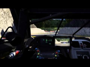 Assetto Corsa: Trial Mountain V0.2 Corvette C6R V3