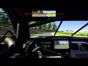 Assetto Corsa: Golf Course 0.5 Snoopy, Corvette C6r B V2