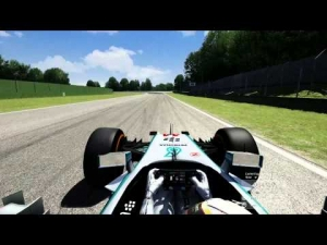 Assetto Corsa Mercedes W05 Lewis on Imola Hotlap (1.20.979)