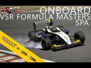 Virtual Simracing | Formula Masters | Spa-Francorchamps | Balazs Toldi OnBoard