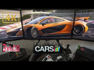 Project CARS McLaren P1 destroying the Ring amazing weather changes