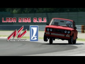 Assetto Corsa mod - Lada 2106 sneak preview
