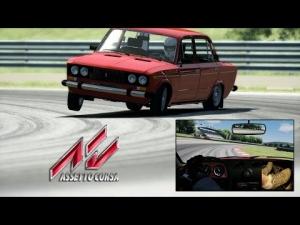 Assetto Corsa hotlap - Lada 2106 at Magione (1st rsr)