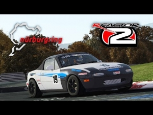 rFactor 2 [HD+] ★ Mazda Miata Super Charged ★ Nürburgring Nordschleife Tourist v1.70 in Autumn