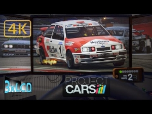 Project CARS sunset battle of classics Group A at ZOLDER Triple Screen in Ultra 4K onboard