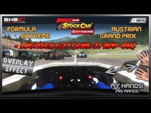 GSC Extreme # Overlay Effect - SWE 27 # Formula Extreme (Race) @ Austria GP