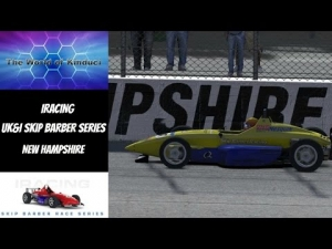 iRacing UK&I Skip Barber League Race Season 3 2014 Round 4 from New Hampshire