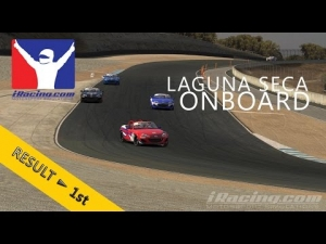 iRacing | #2 | Mazda MX-5 Cup | Laguna Seca | Balazs Toldi OnBoard