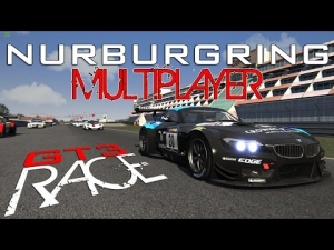 Assetto Corsa Multiplayer @ Nurburgring From 5th to 9th to the Victory