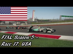 F1XL Season 5 - Race 17. USA