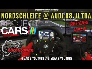 Project CARS - Nordschleife @ Audi R8 Ultra - 6 Años / 6 Years Youtube ;)