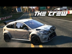 The Crew [HD+] ★ Closed Beta ★ Ford Focus RS Dirt Spec ★ Nature Trail [Fanatec CSR]