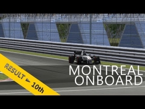PSRL F1 2013 | Canadian Grand Prix | Balazs Toldi OnBoard