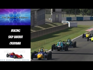 iRacing Official Skip Barber race from Okayama - First race of the week
