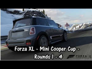 Forza XL - Mini Cooper Cup - Rounds 1 to 4