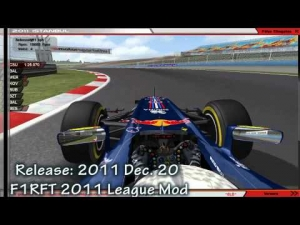 F1RFT 2011 | League Mod | Gameplay [rFactor]