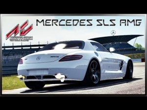 Assetto Corsa - NEW Mercedes-Benz SLS AMG @ Nürburgring GP (Lap + Replay)