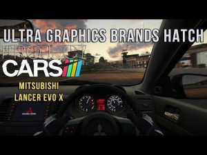 Project CARS - Ultra Graphics Brands Hatch @ Mitsubischi Lancer Evo x
