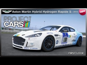 Project CARS - *NEW* Aston Martin Hybrid Hydrogen Rapide S '13 (First Look)