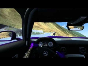 A little Transfagarasan goodness in the newly released Mercedes SLS