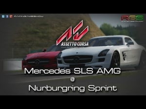 Assetto Corsa | Mercedes-Benz SLS AMG | Nurburgring Sprint | New Update