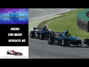 iRacing official Star Mazda series at at Interlagos #3 - Another fun race