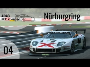 R3E ADAC GT masters #04 – Lambda Ford GT GT3 @ Nürburgring [HD]