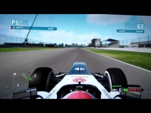 F1 2013 Silverstone Britain Setup qualifying online 1:28.264 - ROBY F1