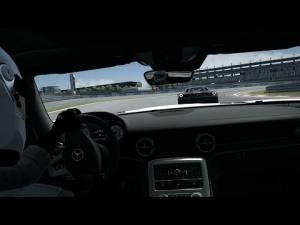Assetto Corsa Mercedes SLS AMG Vs F458 at Nurburgring Short