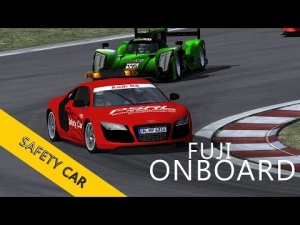 4 Hours of Fuji | PSRL WEC 2014 | Balazs Toldi OnBoard | Safety Car