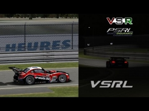 VSRL Formula.hu - Le Mans Daylight & Night Comparison