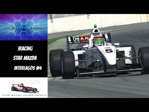 iRacing Star Mazda Official race at Interlagos - Good drive after early crash