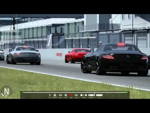 Assetto Corsa update 0.22.2 car Mercedes SLS + nurburg sprint