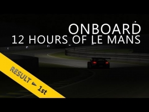 12 Hours of Le Mans | PSRL WEC 2014 | Balazs Toldi OnBoard | Night runs