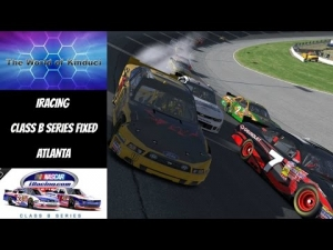 iRacing Official Nascar Class B Fixed series at Atlanta