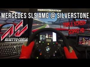 Assetto corsa - Mercedes-Benz SLS AMG @ Silverstone