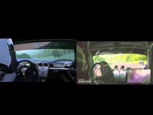Assetto Corsa Snoopy's Nordschleife vs Real Life - Pagani Zonda R