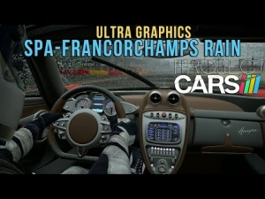 Project CARS - Ultra Graphics Spa-Francorchamps Rain