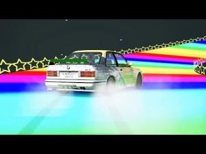Assetto Corsa - Rainbow road drift
