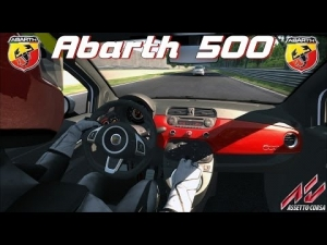Assetto Corsa - Abarth 500 @ EsseEsse at Magione - Driving Force GT