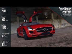 Assetto Corsa - Development Update 0.22 - Mercedes SLS AMG - Nurburgring Short - Talk&Drive