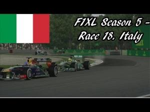 F1XL Season 5 - Race 18. Italy