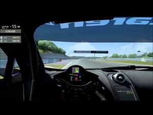 MP4-12c GT3 @ Nurburgring Sprint 1:25.491