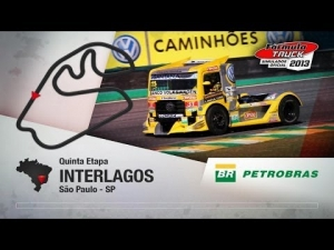 Formula Truck 2013 - Iveco @ Beto Monteiro #88 - Interlagos - 5 laps