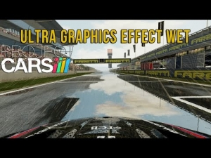 Project CARS - Ultra Graphics Effect Wet - Cataluña @ Bmw Z4